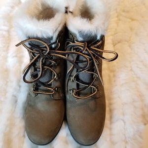 🌹SPERRY Luca Peak Waterproof Wedge Boots